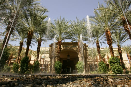 Hyatt Regency Resort & Spa in Indian Wells was the site Thursday morning of some type of disturbance that prompted law enforcement to respond, officials said.