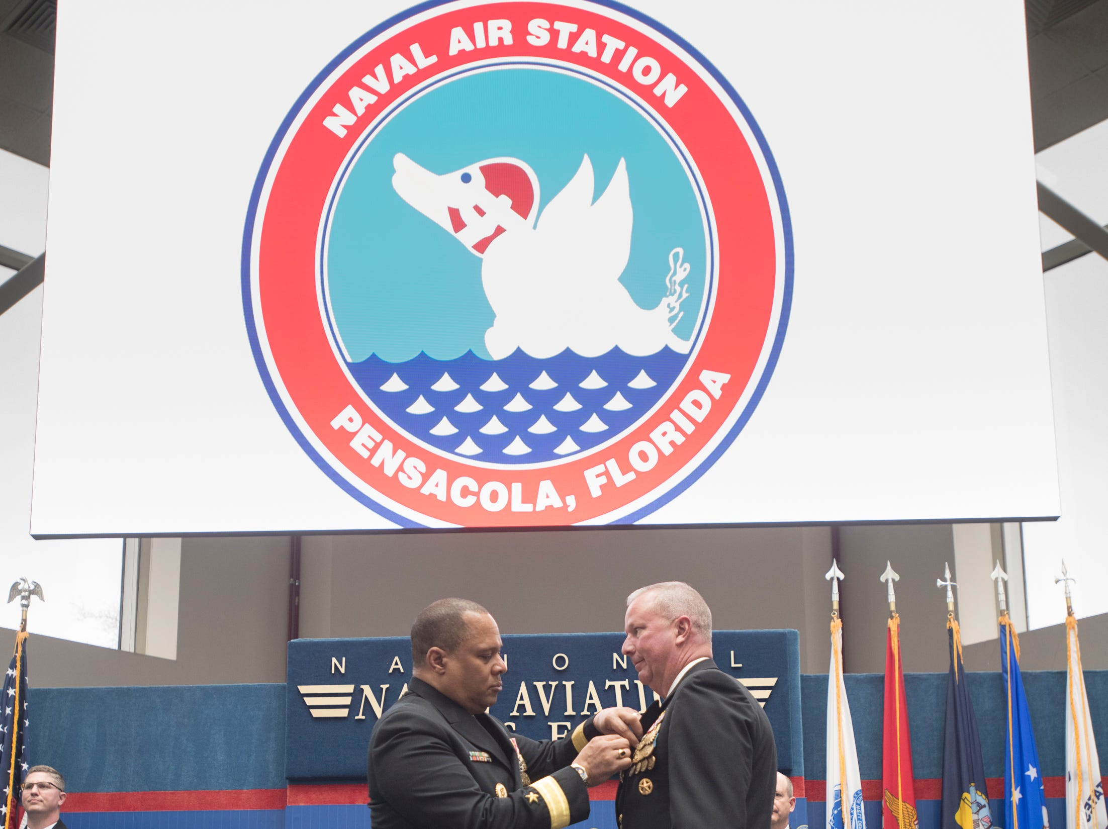 Change of Command at Naval Air Station Pensacola on Thursday, March 14, 2019.
