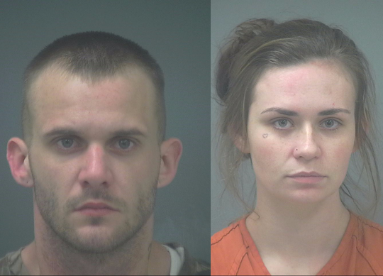 Arthur Tanner Buckhault, 26, and Amber Lynn Holder, 21.