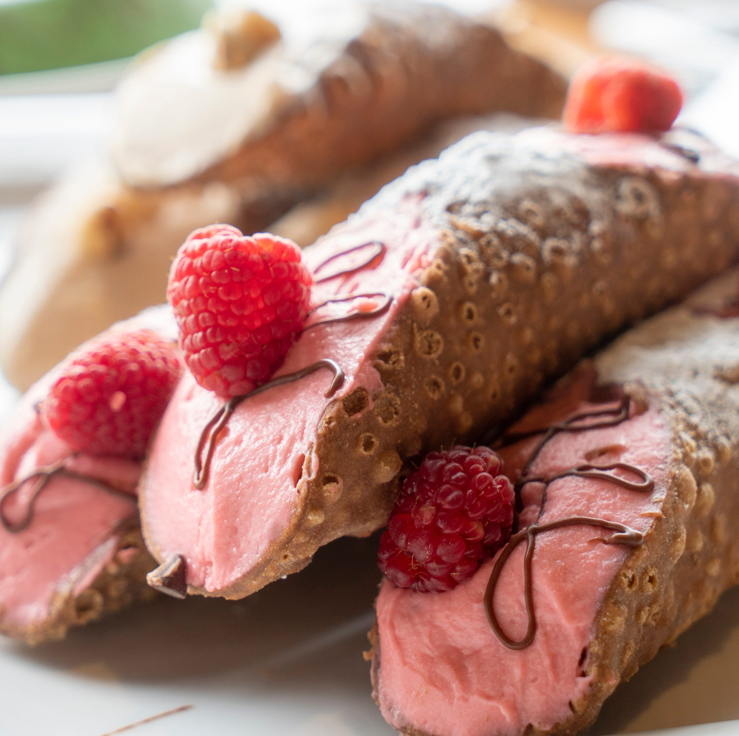 Sicilian Baker brings foot-long cannoli to Phoenix. Here's how to get a free mini one