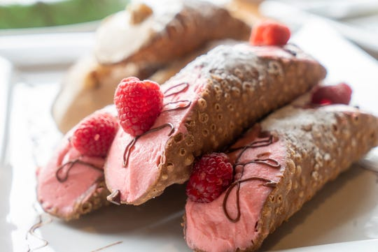 The Sicilian Baker will serve fresh baked pastries including cannoli and traditional Sicilian sponge cake.