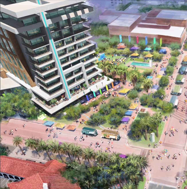 A hotel and condo project is proposed in Old Town Scottsdale. Here's why some are concerned