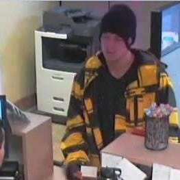 Scottsdale police seek bank robbery suspect
