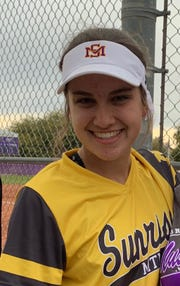 Sunrise Mountain softball pitcher Kylee Messmer