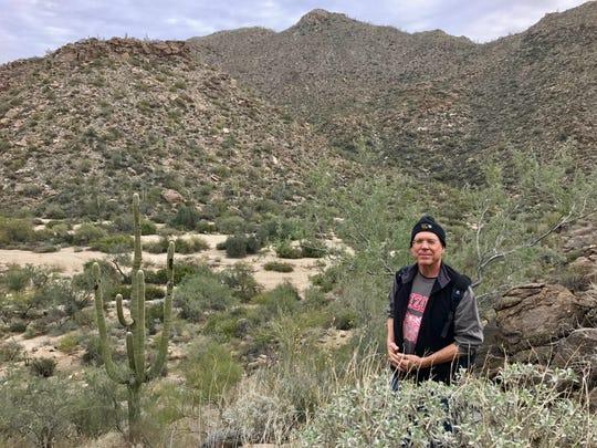 Doug Biggers, in the Tortolita Mountains near Tucson.