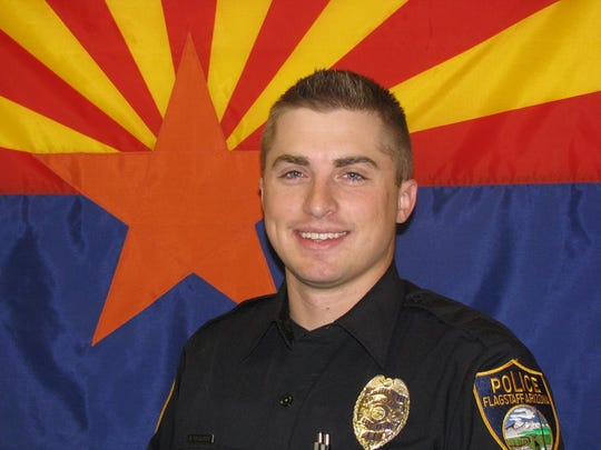 Officer Daniel Beckwith of the Flagstaff Police Department