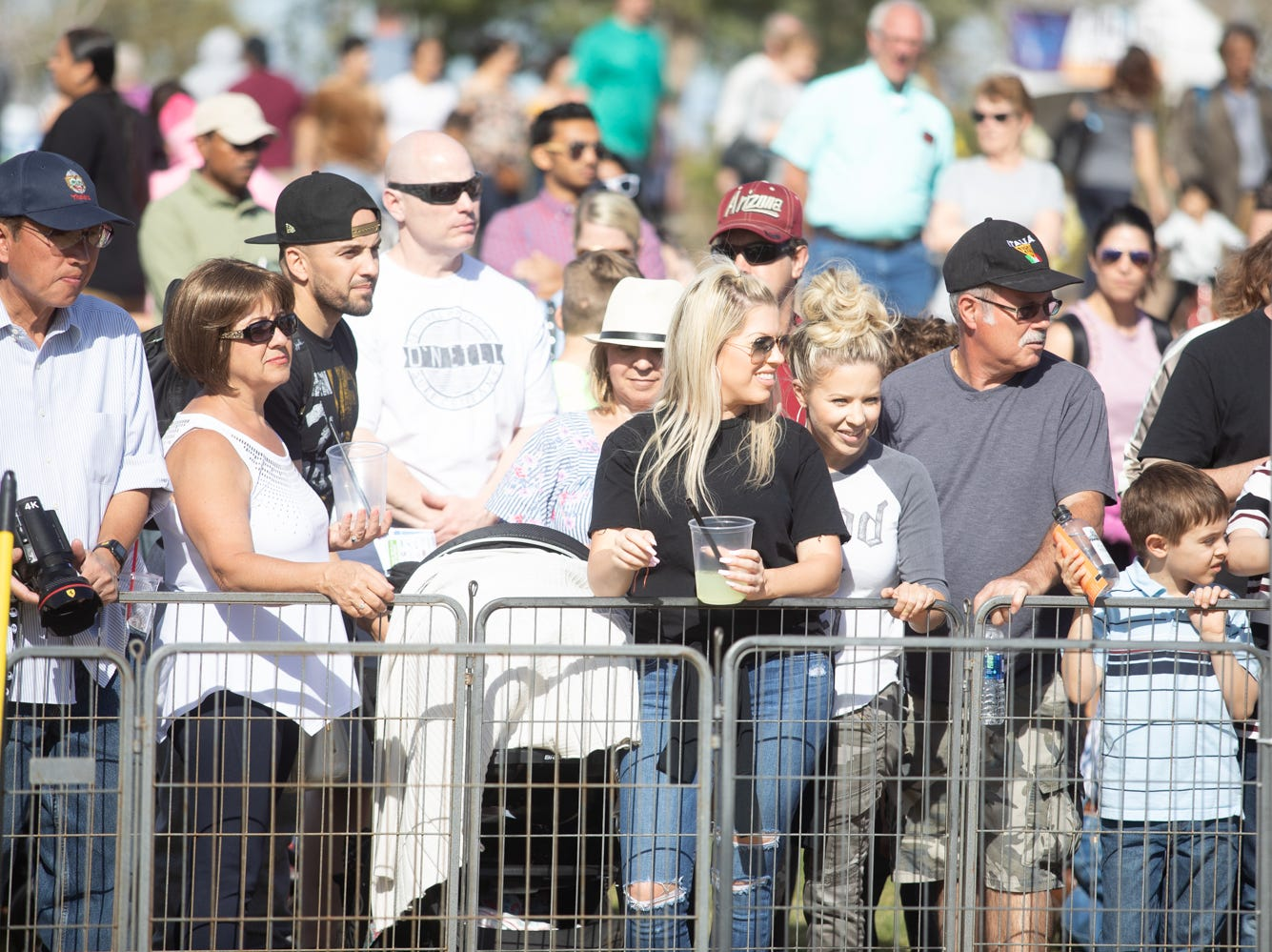 People were very excited about the dog races at the Chandler Ostrich Festival on Sunday, March. 10, 2019.