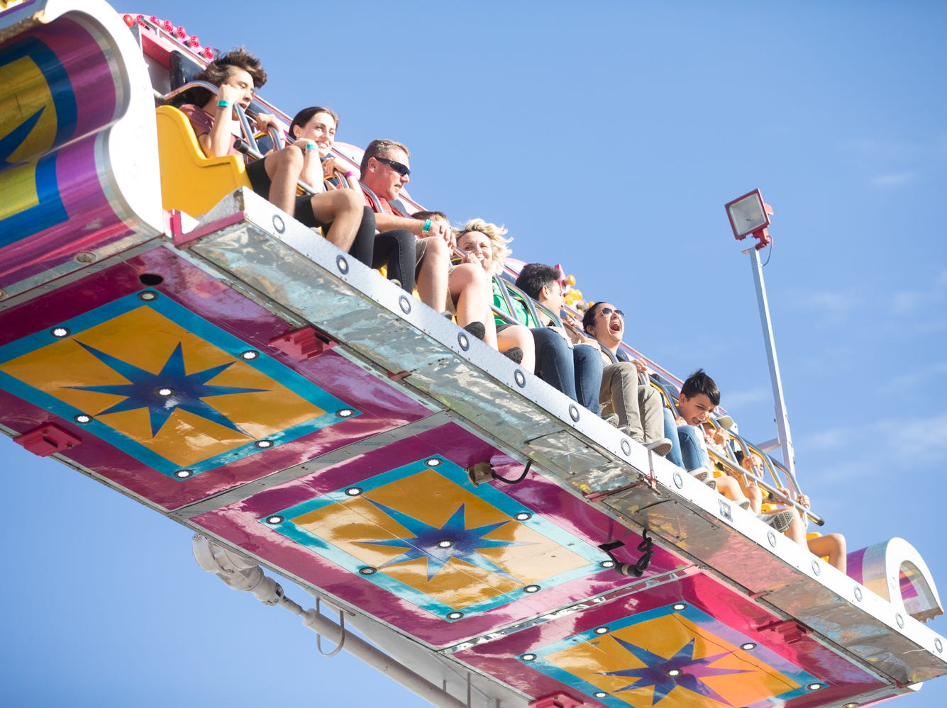 Everyone enjoyed the rides at the Chandler Ostrich Festival on Sunday, March. 10, 2019.