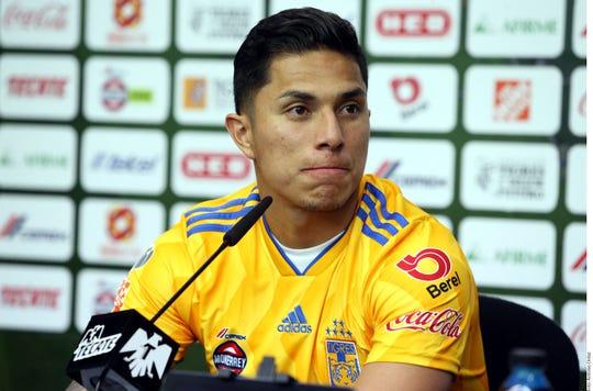 Carlos Salcedo, jugador de Tigres