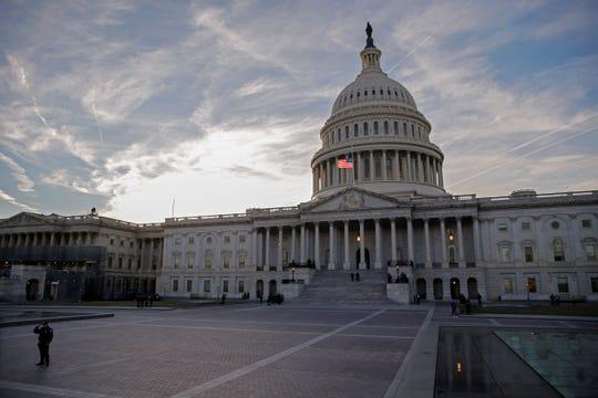 Fotografía del capitolio de los Estados Unidos.