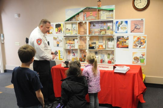 The Port Huron Fire Department provides a small-scale house to teach kids all about fire hazards and escape routes.