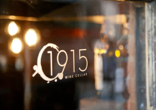 1915 Wine Cellar located at 40 Cannon Street in the City of Poughkeepsie on March 14, 2019. The wine bar offers a broad range of domestic and foreign wines, as well as a menu of local cheeses, charcuterie and a featured sandwich.