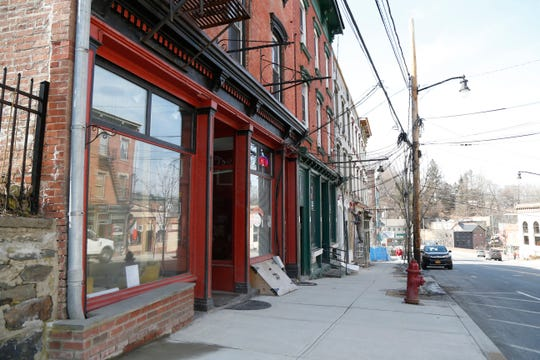 2495 E Main Street in the Village of Wappingers Falls, the location of Mamma Musetti's on March 14, 2019. The Italian themed cafe plans to open its doors by the end of March.
