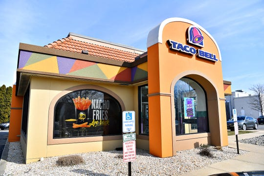 Taco Bell on East Market Street in Springettsbury Township, Thursday, March 14, 2019. Dawn J. Sagert photo