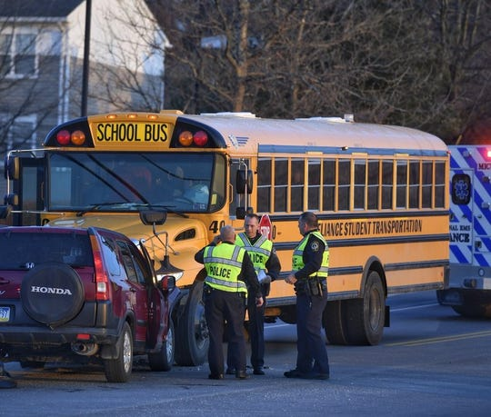 Students Not Injured In Head-on Bus Crash In York Township