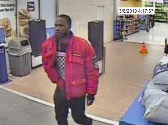 A second image of a man Northern York County Regional Police is looking for in connection with an assault in Franklin Township.