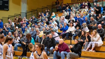 The Kennard-Dale girls' basketball team has seen tremendous local support -- including a fan bus -- throughout its 23-5 season. The Rams lost to Mifflinburg, 51-45, in the state playoffs Wednesday.