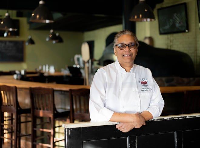 Jackie Price, executive chef at JoJo's Bistro & Wine Bar.
