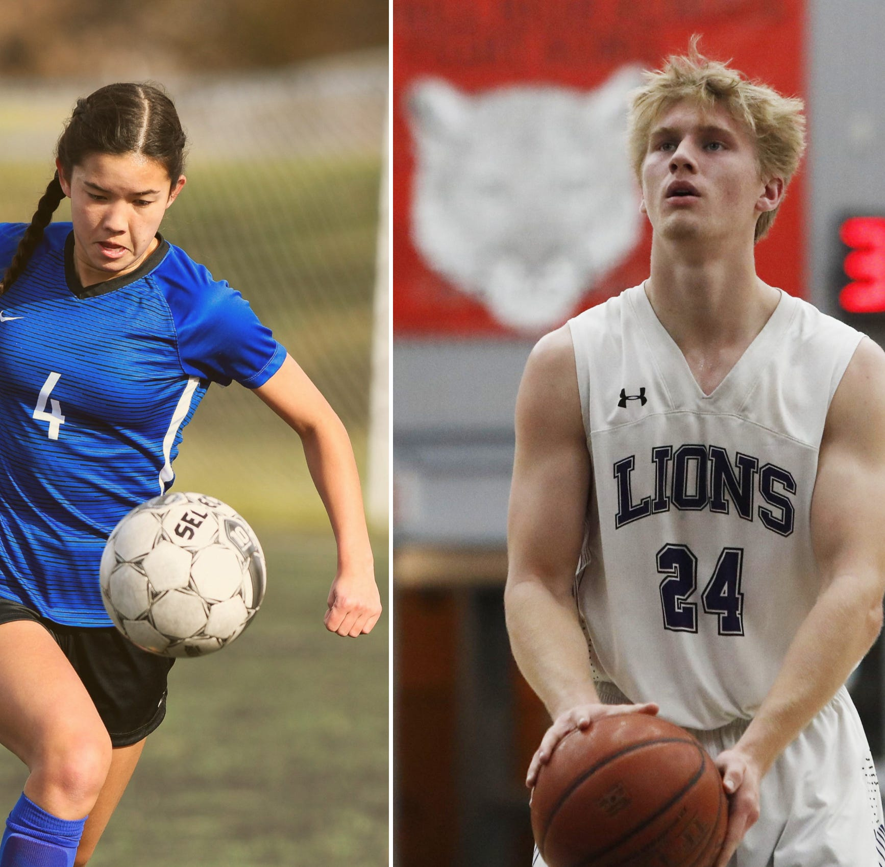 Soccer, basketball all-league teams released for 2019; seven in Redding area win MVP awards