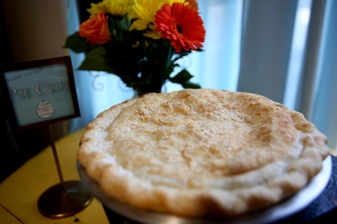 A Pi Day celebration and shop opening at Bountiful Pies in West Salem on March 14, 2019.