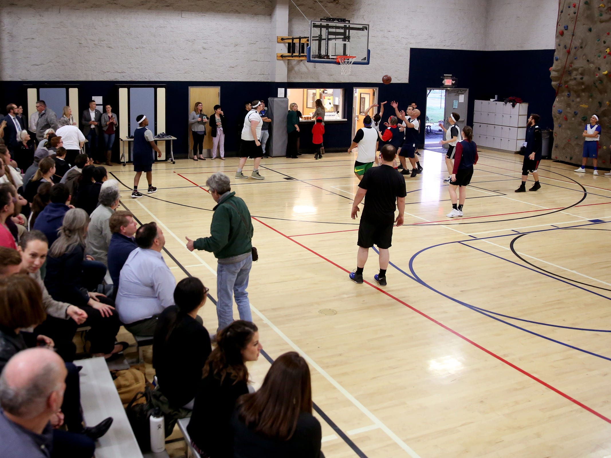 The second annual House vs. Senate charity basketball tournament at the Boys & Girls Club in Salem on March 13, 2019. The tournament raised more than $10,000 for the Oregon Alliance of Boys & Girls Clubs.