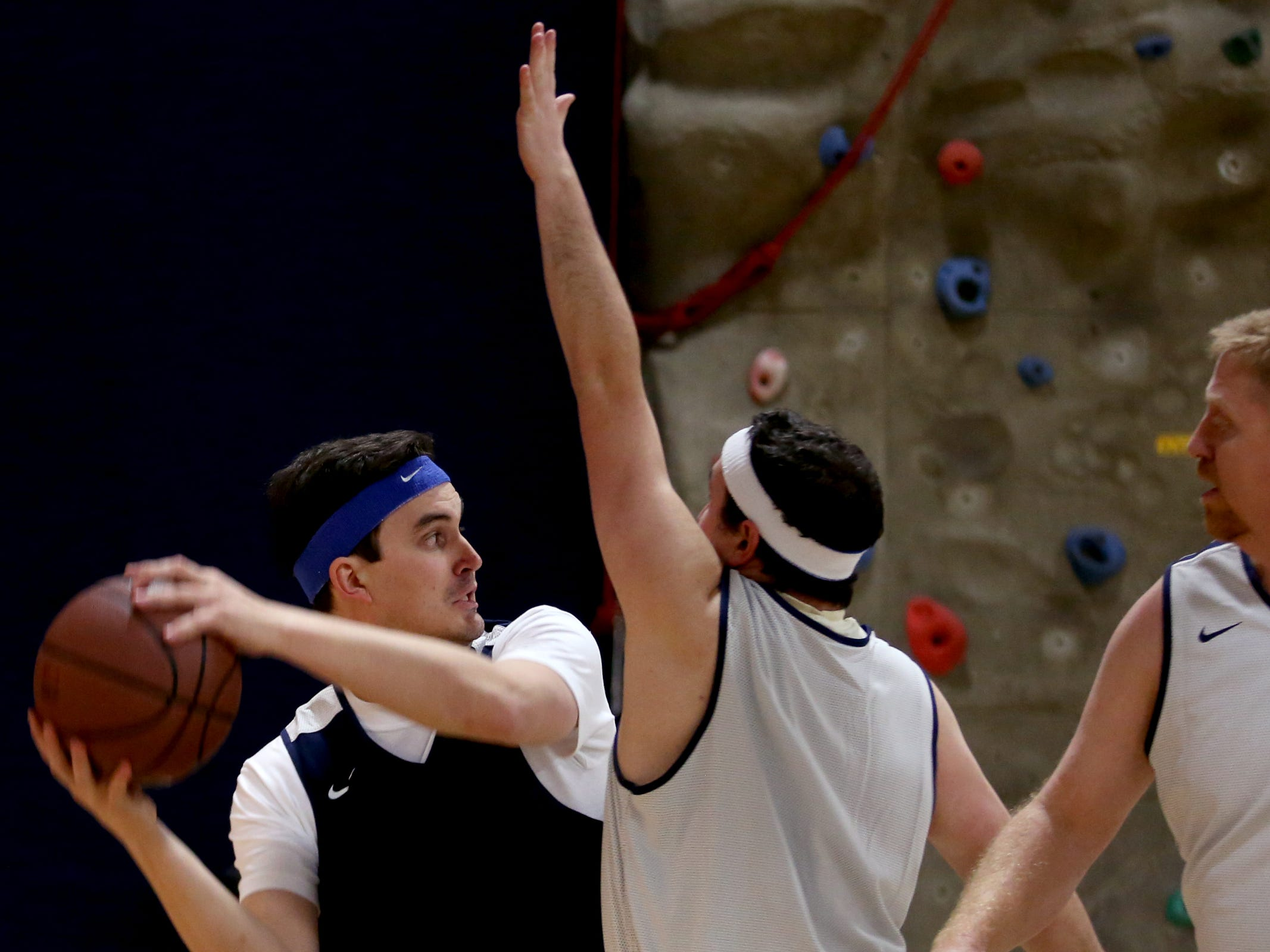 House players compete in the second annual House vs. Senate charity basketball tournament at the Boys & Girls Club in Salem on March 13, 2019. The tournament raised more than $10,000 for the Oregon Alliance of Boys & Girls Clubs.