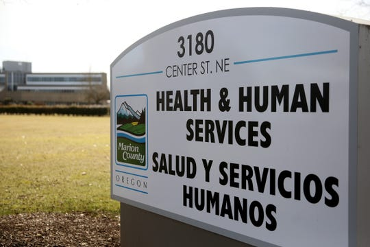 The Marion County Health & Human Services in Salem on March 14, 2019.
