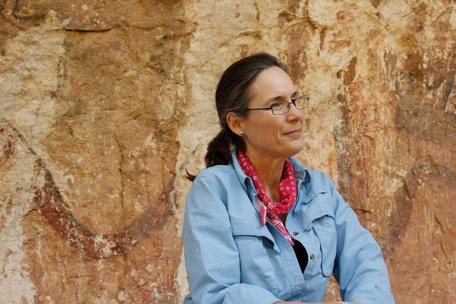 Dr. Carolyn Boyd at Mystic Shelter.
