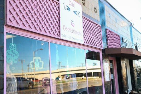 A Second Look Consignment has women's nearly new items such as clothing, jewelry and purses.