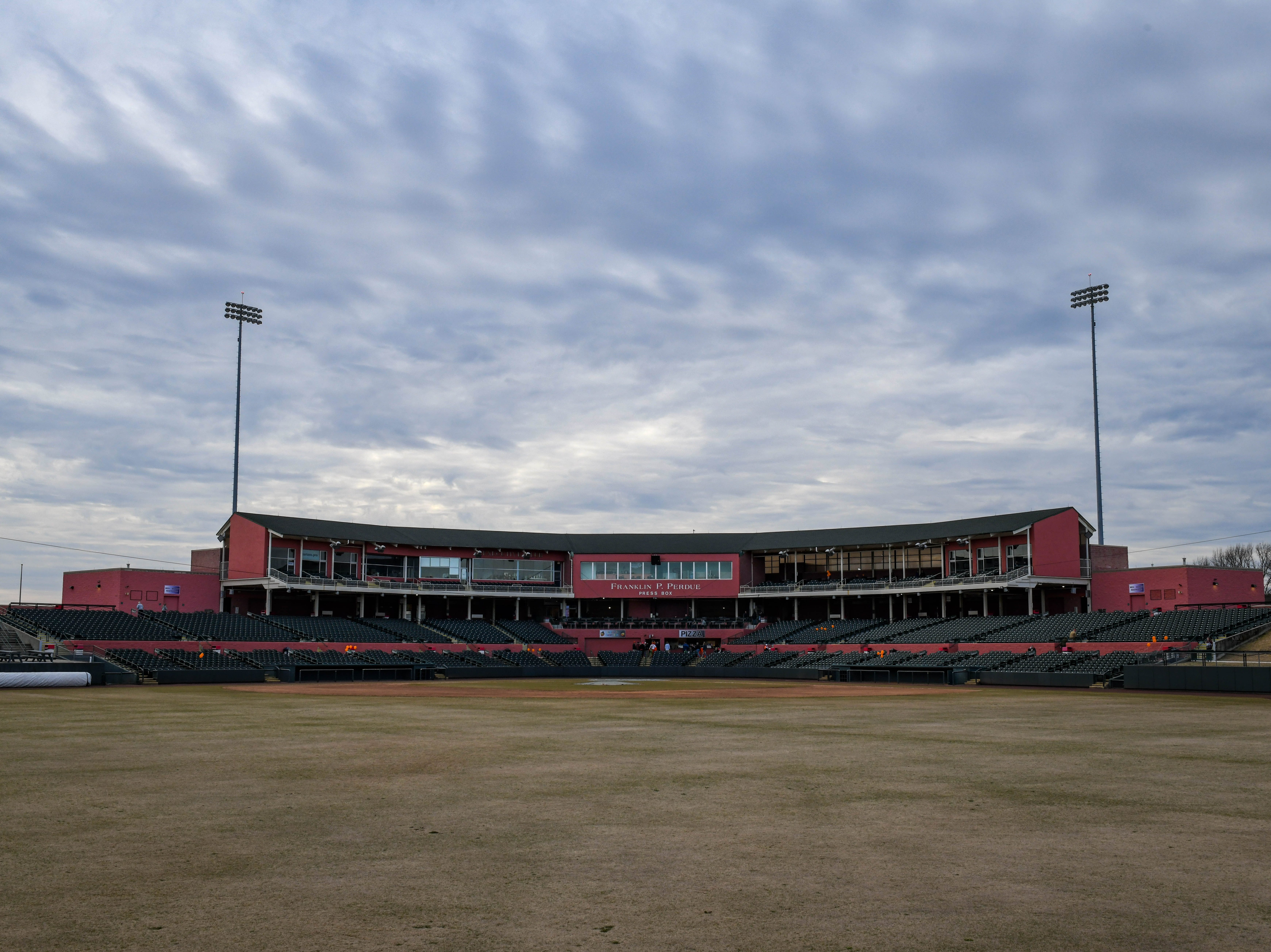 Perdue Stadium welcomed visitors at an open house event to tour the new boardwalk deck on Wednesday, Mach 13, 2019.