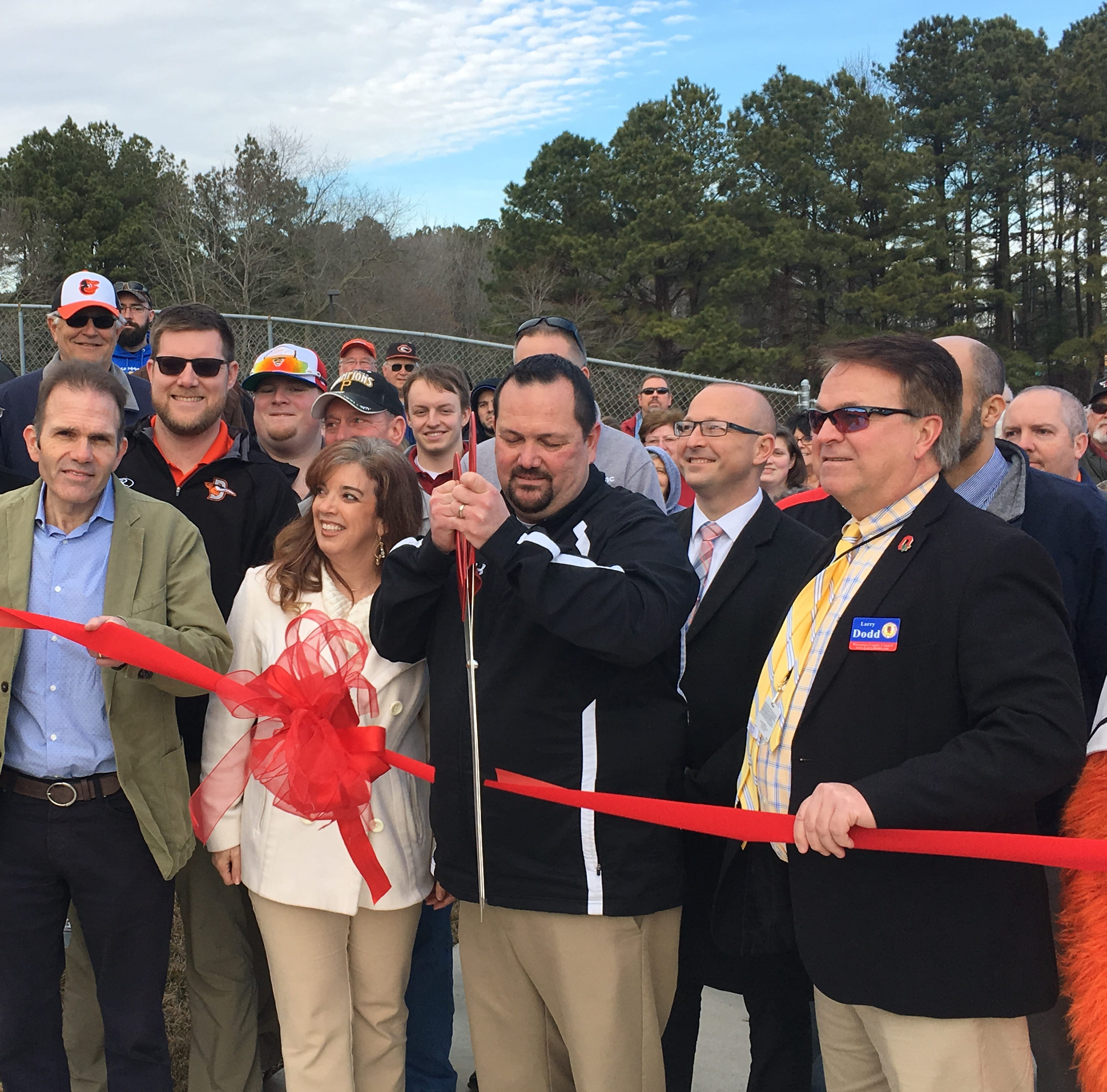 Shorebirds open 360-degree deck at Perdue Stadium