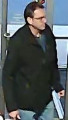 "The Wicomico County Sheriff's Office said the pictured individual was seen behaving ""in a suspicious manner"" at Southbound Alley in Salisbury, Maryland hours before the bowling alley was burglarized on Feb. 20, 2019."
