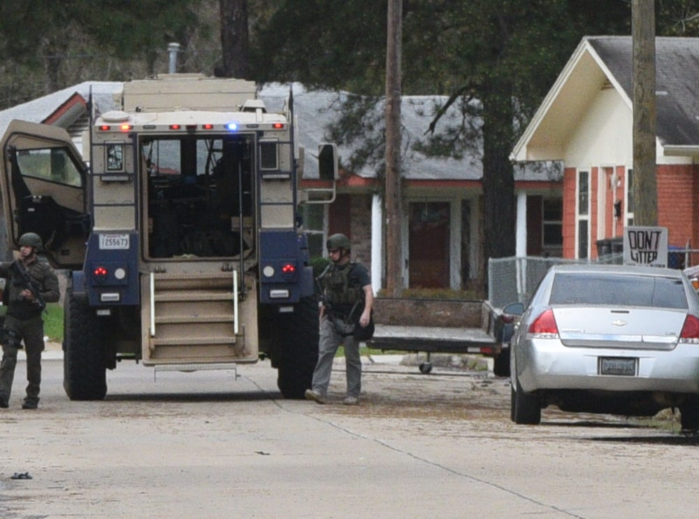 The Caddo Parish Sheriff's Office is on the scene in search of a suspect connected to a shooting that took place Wednesday night. 