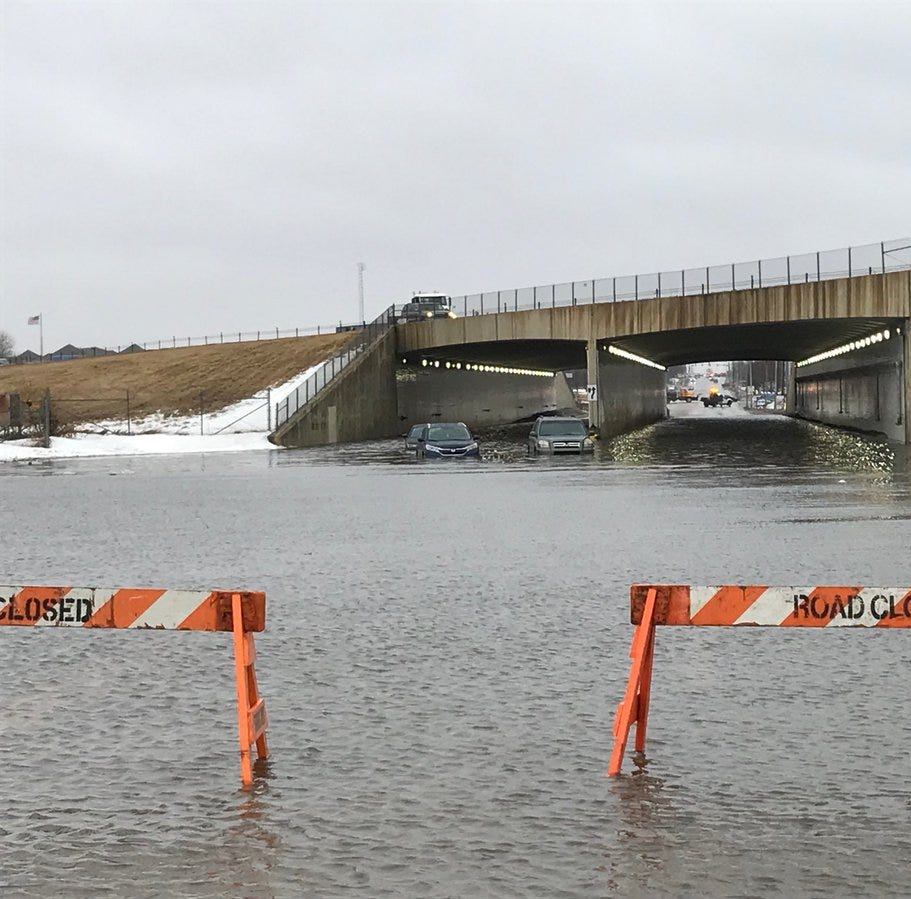 Sioux Falls working to contain flooding: 'We're not out of the woods yet'