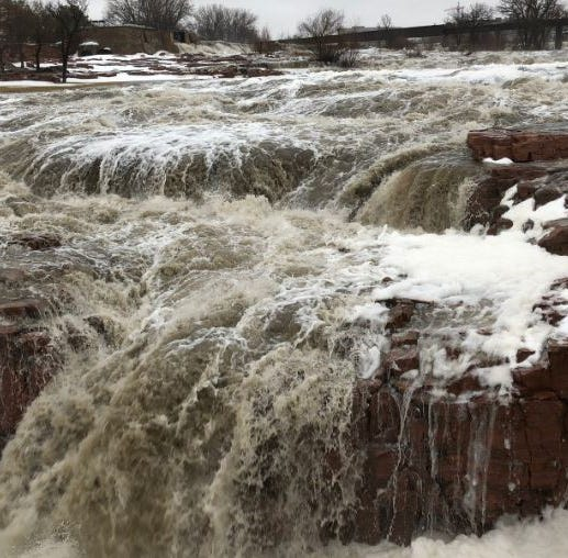 Falls Park closes for first time ever as city prepares for flooding