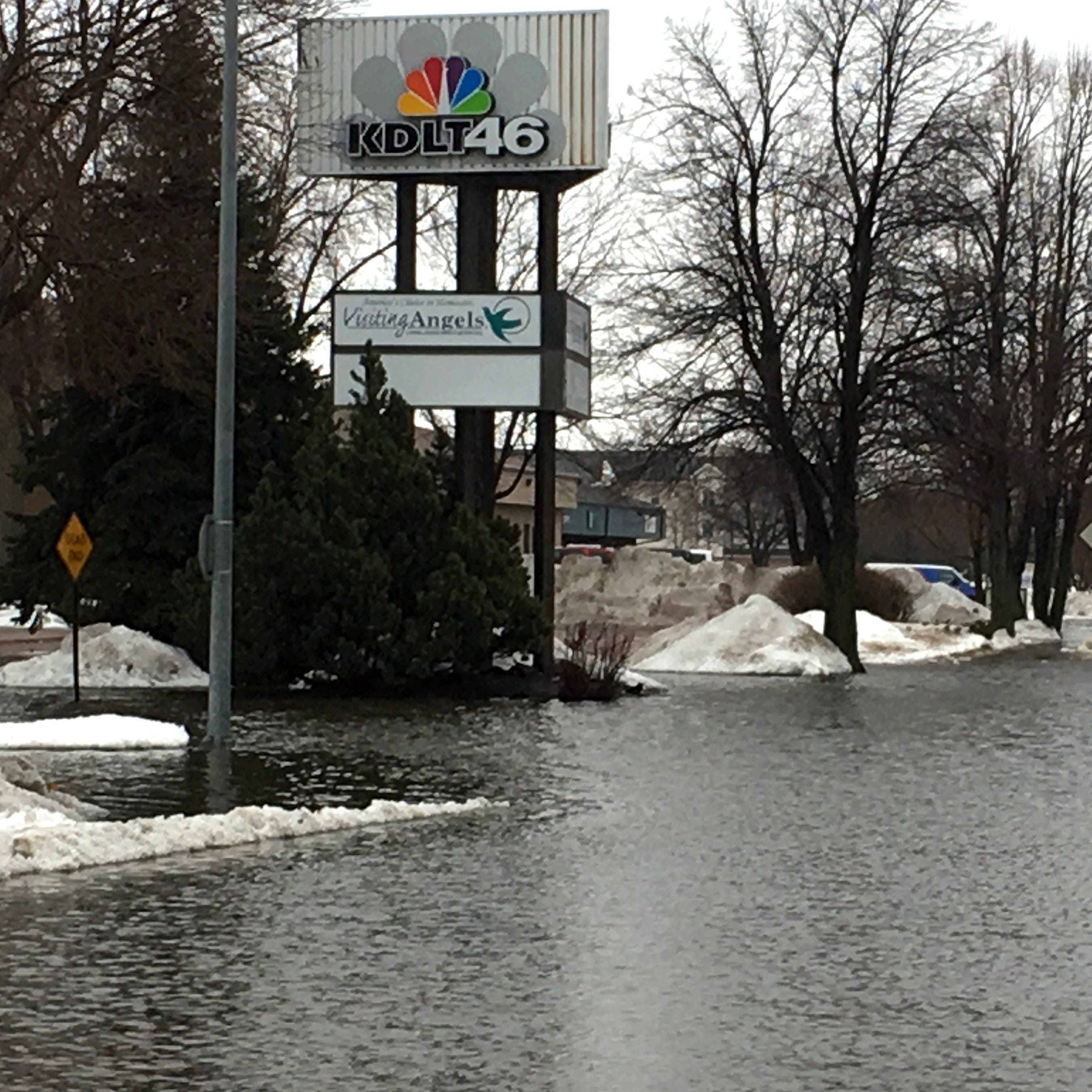 Sioux Falls flooding: KDLT cancels broadcasts due to flooding