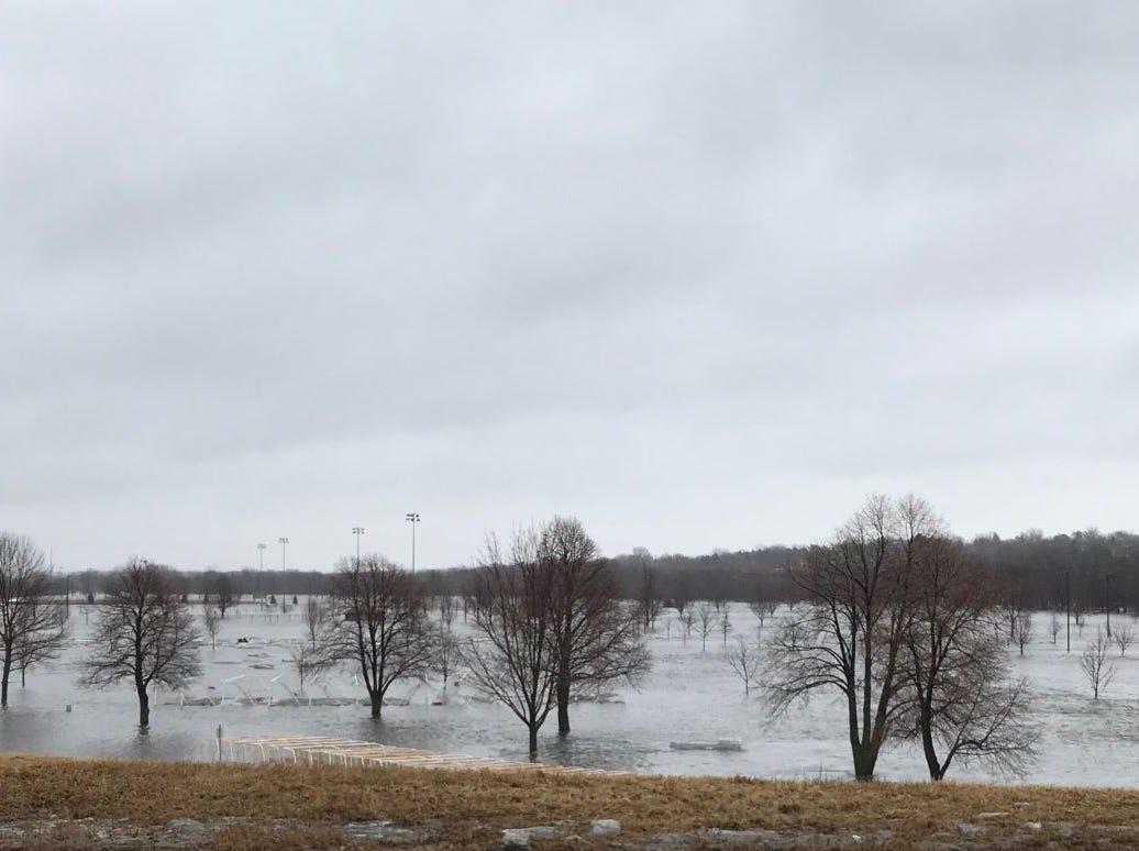 Yankton Trail Park flooding