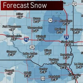 Snow, possible blizzard conditions to follow rain on Thursday