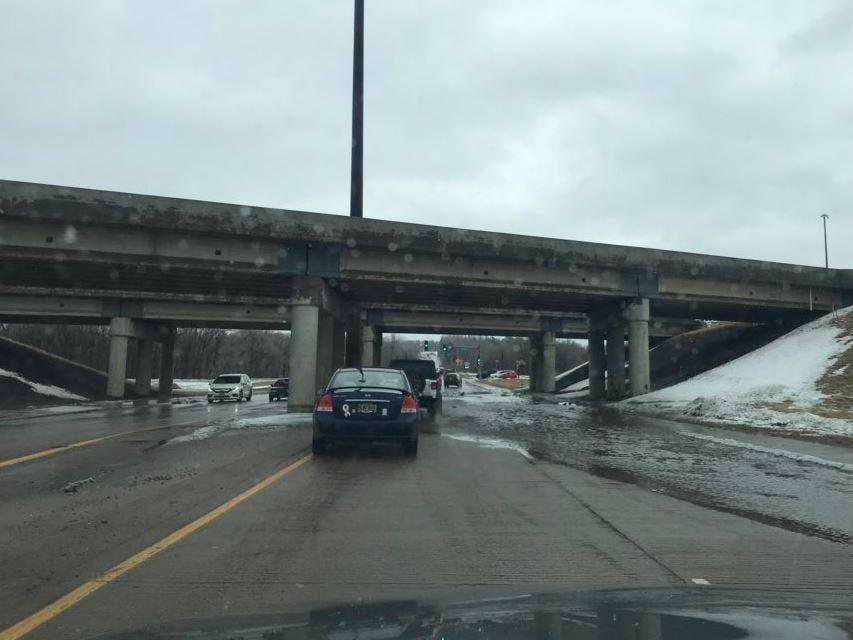 Minnesota Avenue under the Interstate 229 overpass.