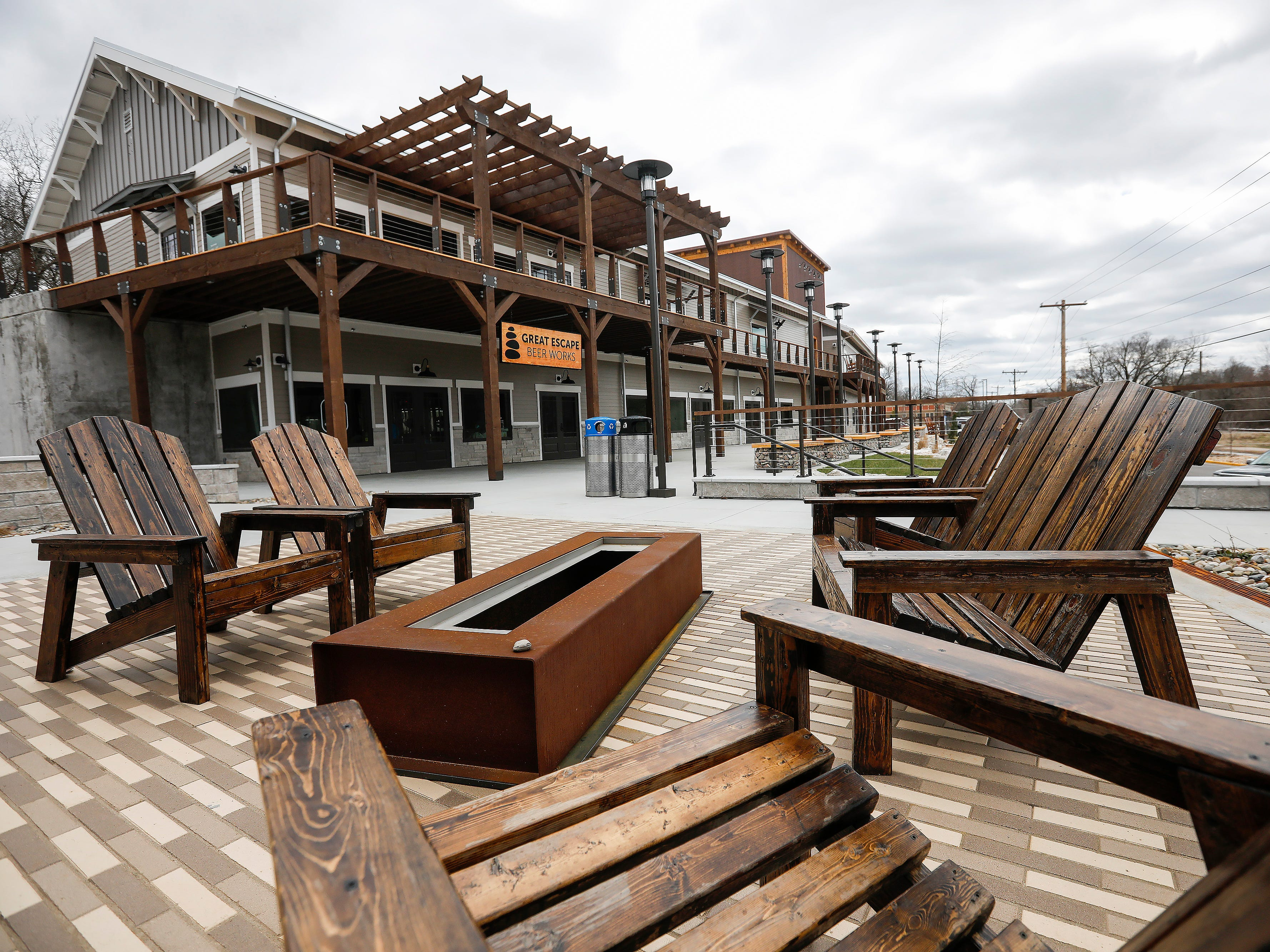 Great Escape Beer Works is the first business at the new Quarry Town development in the Galloway neighborhood.