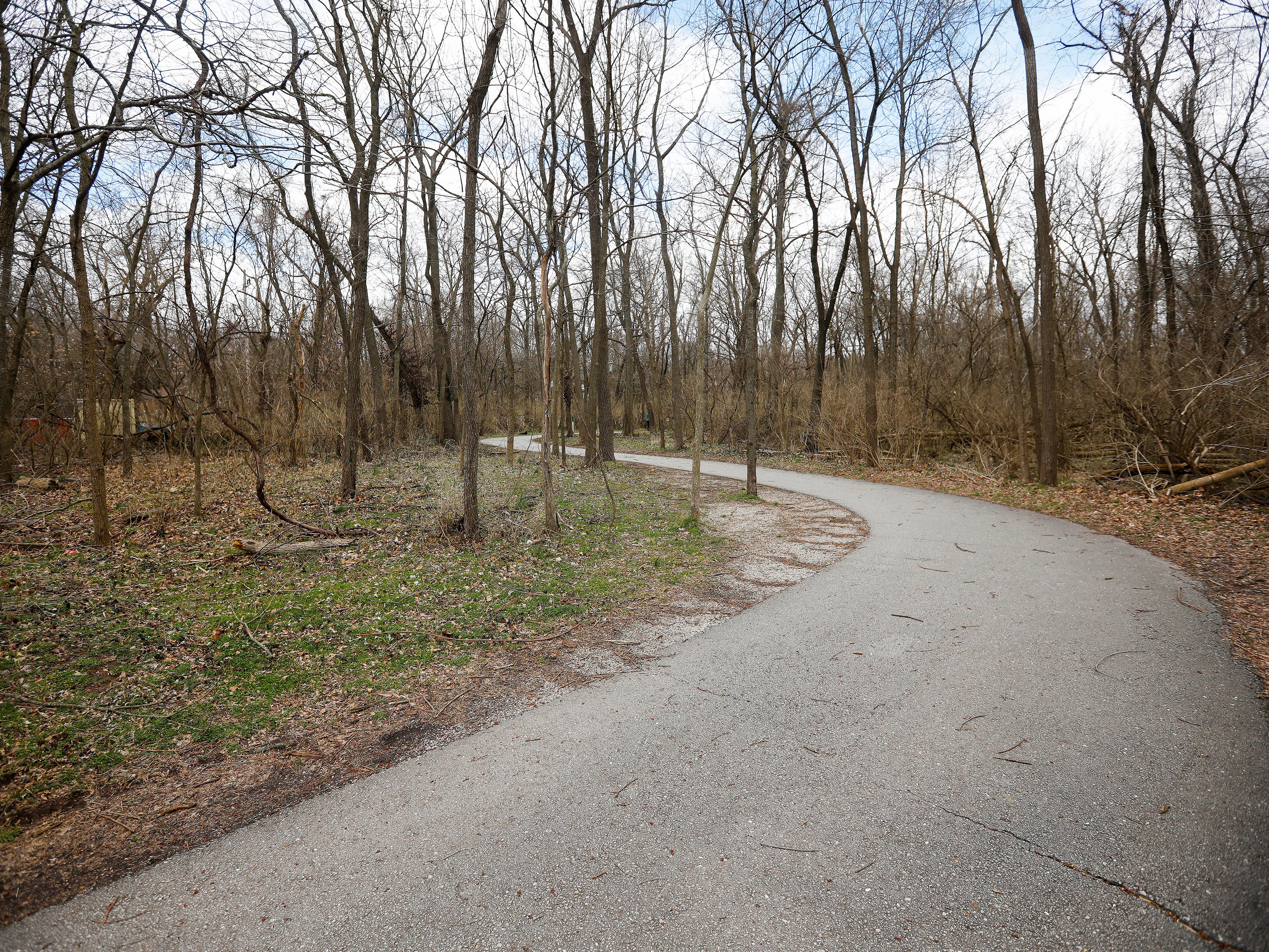 The Galloway Creek Greenway Trail runs through Sequiota Park.
