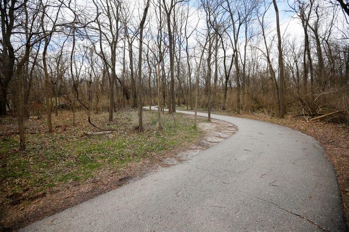 The Galloway Creek Greenway Trail runs through Sequiota Park.