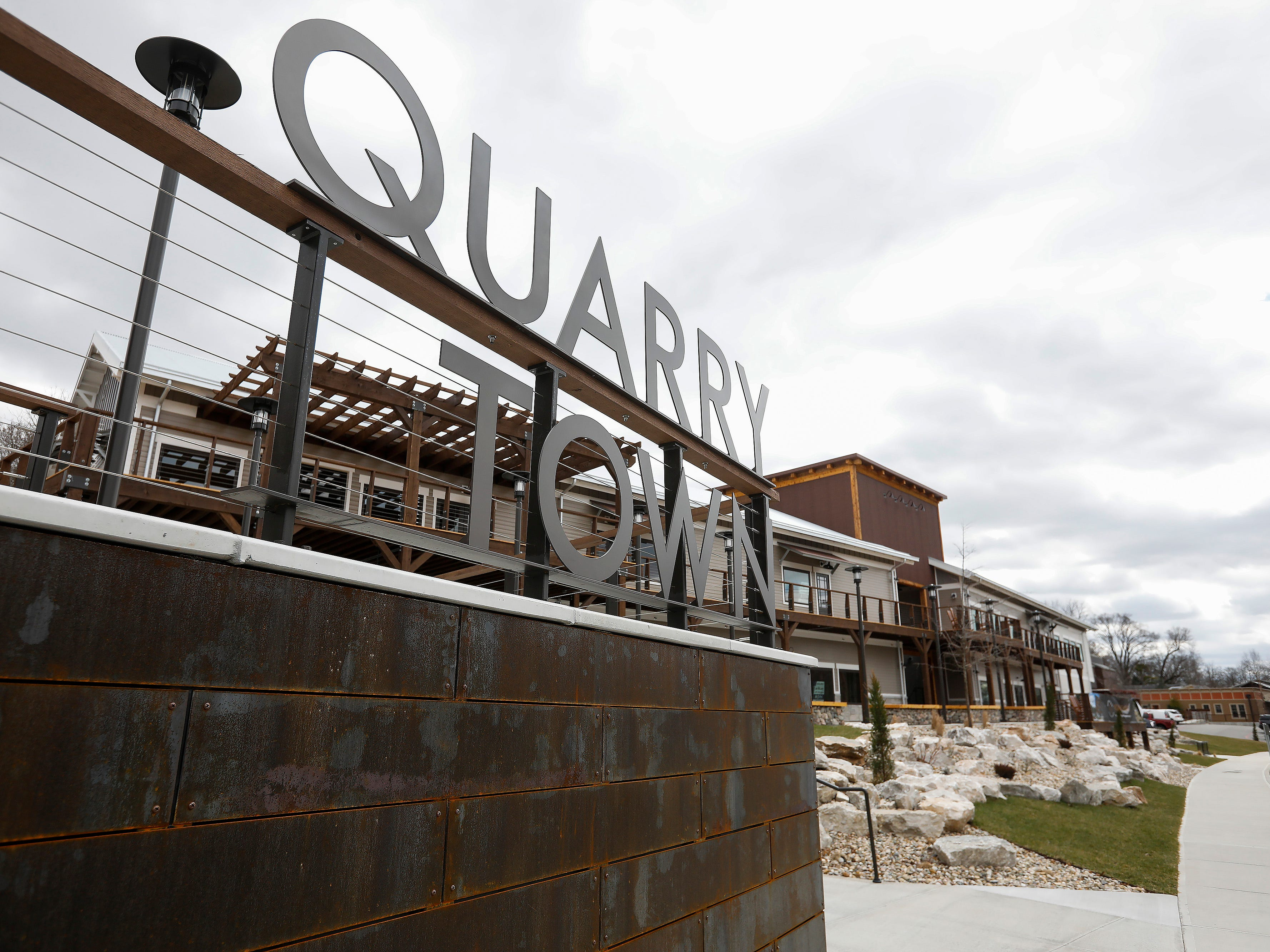 Space is available to lease at the new Quarry Town development in the Galloway neighborhood.
