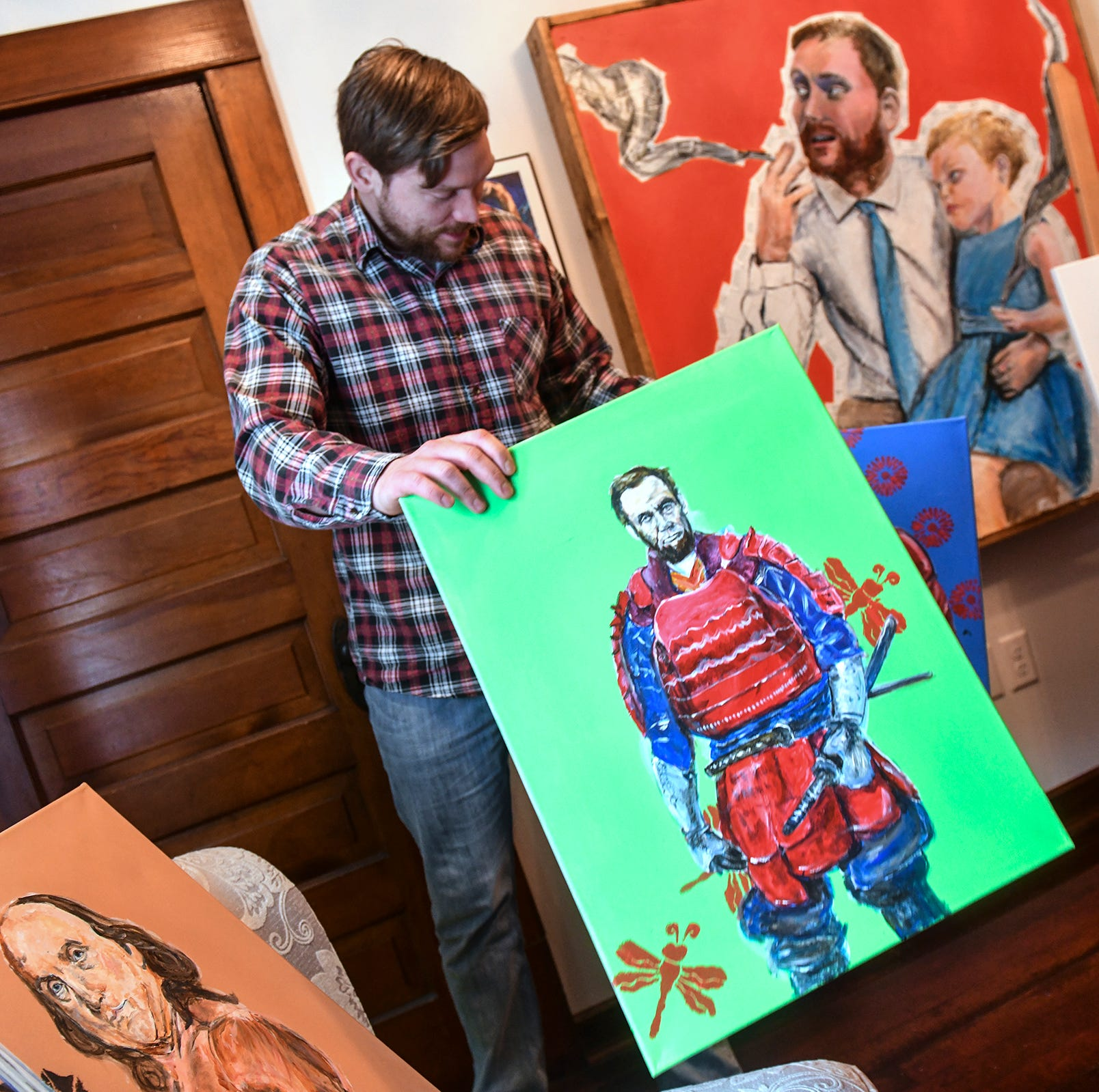 St. Cloud artist Adam Spaeth on color, community and how everyone can 'leave their mark'