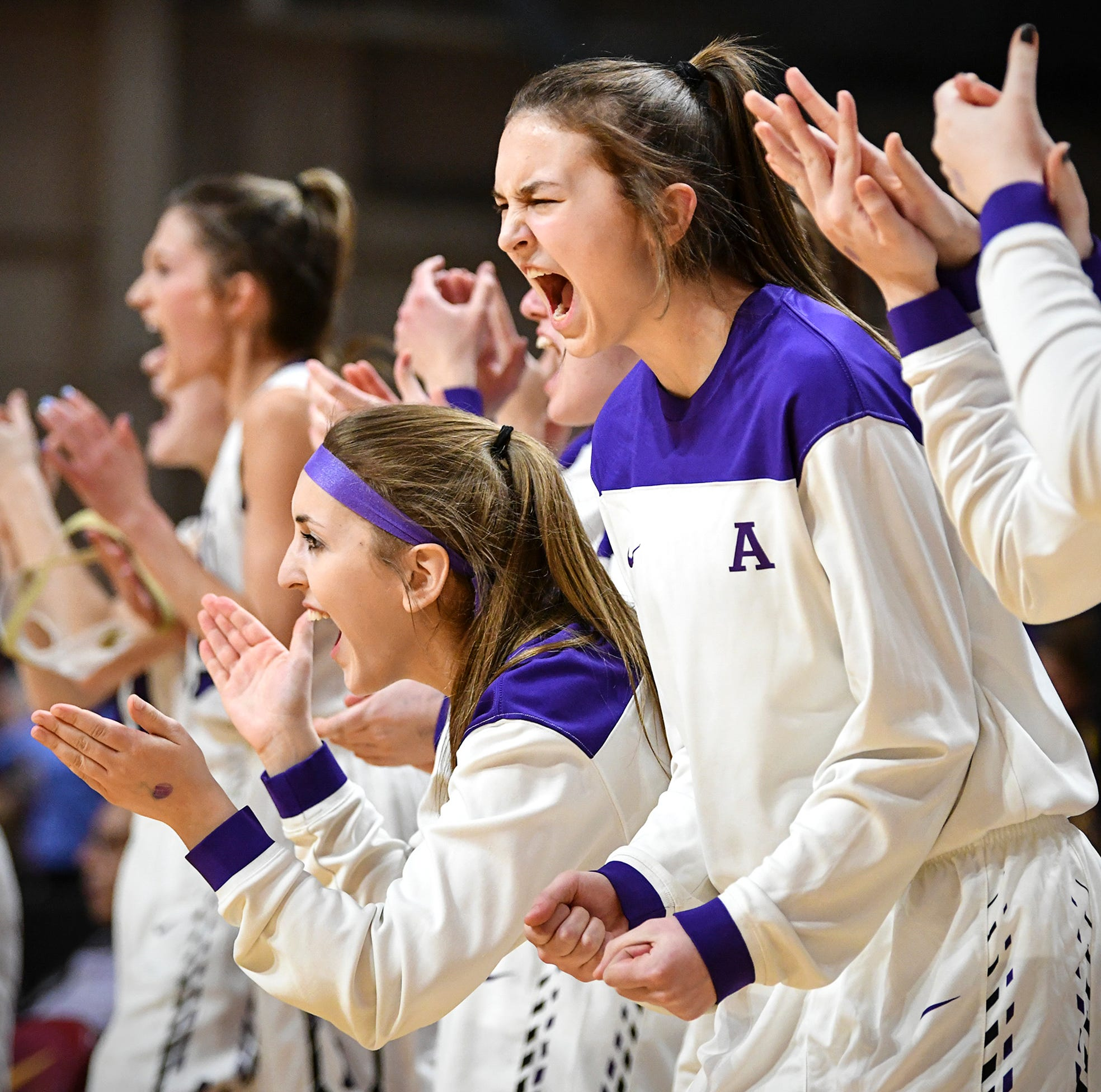 State basketball semifinals: Albany vs. Minnehaha Academy