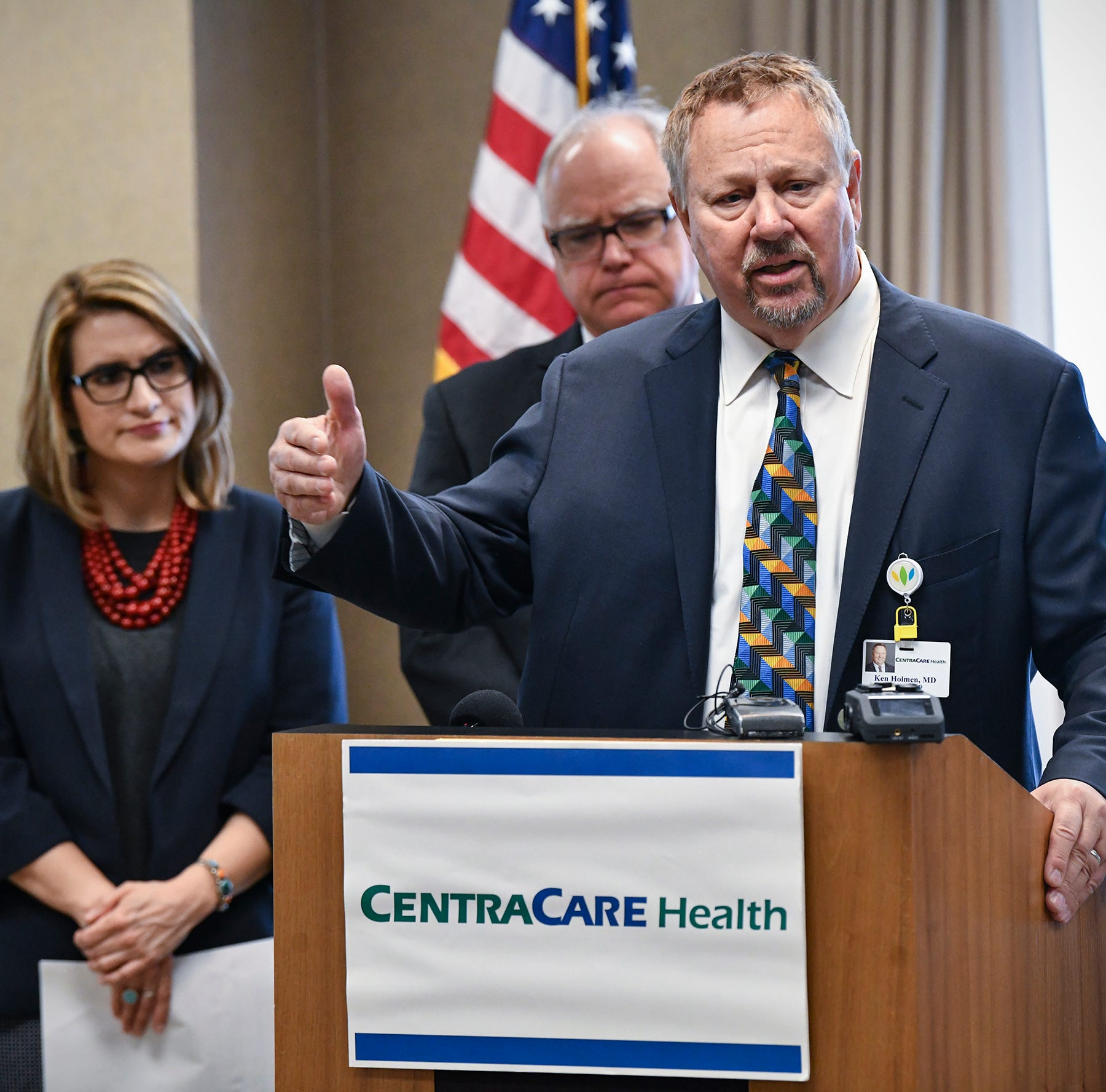 CentraCare CEO joins Gov. Walz in call to keep provider tax for Health Care Access Fund