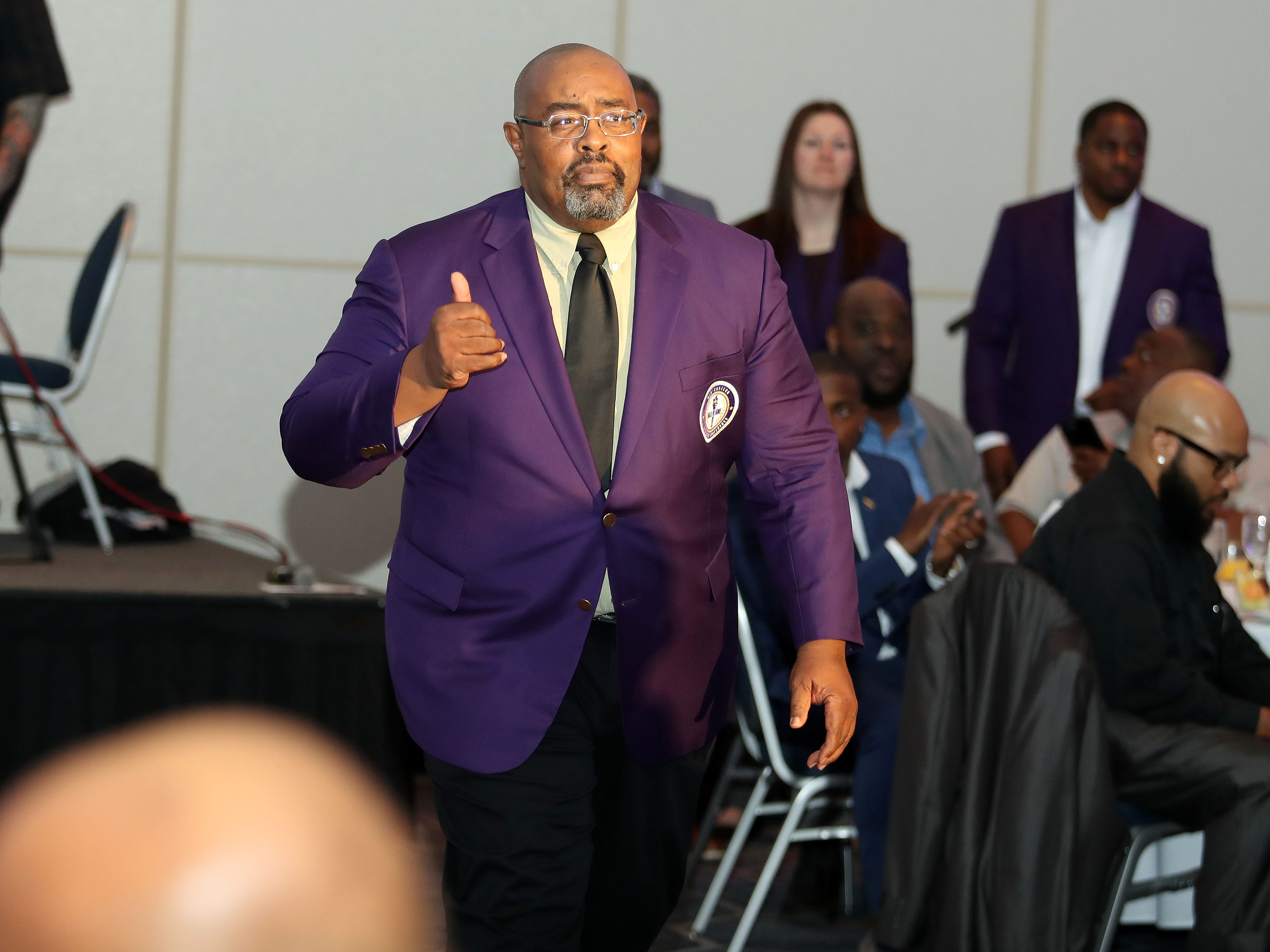 FAMU sports administrator Alvin Hollins was enshrined in the MEAC Hall of Fame on Wednesday, March 14, 2019 at the Sheraton Norfolk Waterside Hotel in Norfolk, Virginia.