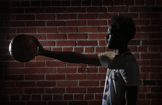 Burges forward Tristen Newton is the El Paso Times' boy's MVP for the 2018-2019 season.