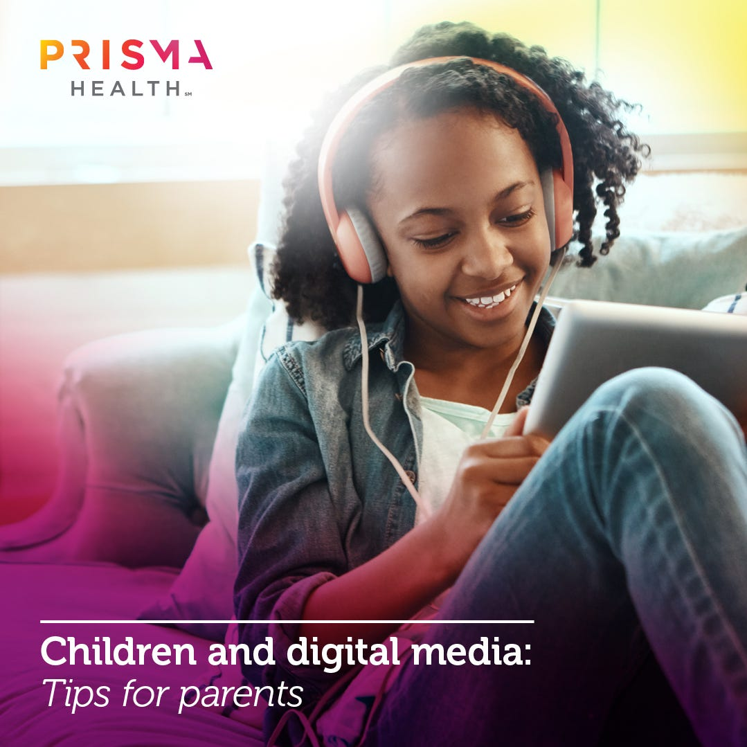 Children and digital media: Tips for parents