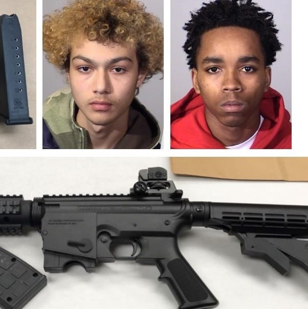 Traffic stop in Oxnard leads to arrests; guns, ammo found in vehicle